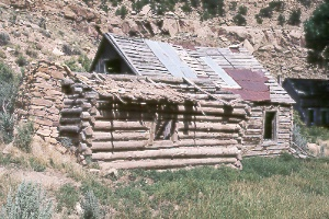 Harper ghost town in Nine Mile Canyon