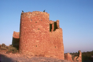 Square Tower Ruins at Hovenweep Natl. Monument