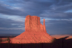 West Mitten in Monument Valley